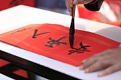 chinese lunar new year calligraphy,