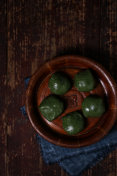 a sweet rice ball on qingming or tomb sweeping day