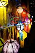 Lantern Festival night and light in north Thailand
