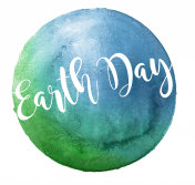 Earth Day Watercolor Design