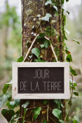 text jour de la terre, earth day in french