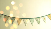 Baby room decoration flags