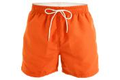 Orange men shorts for swimming