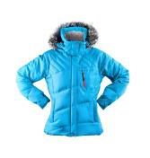 winter jacket isolated on white
