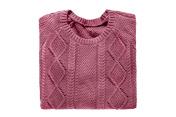 Folded sweater isolated
