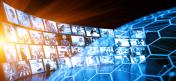 Media wall concept smart TV