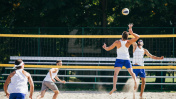Beach Volleyball Men Action