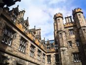 Architectural Detail : Historical Building At Edinburgh University ,Scotland