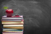 Education concept - Blackboard