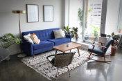 Modern Apartment with Minimalist Mid Century Modern Interior Design