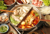 double flavor hot pot