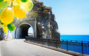 road of Amalfi coast, Italy