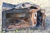 Burned MicroWAVE