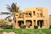Villa in luxurious hotel, UAE