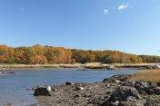 Autumn on the rocky, New England coast