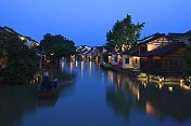 Wuzhen night scene