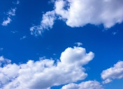 Blue Sky. White Clouds. Blue sky with white clouds