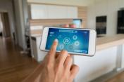 Using smart home app