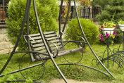 garden bench-swing