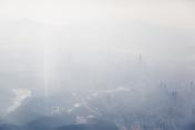 aerial view of Shenzhen city