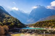 Blue moon Valley,Jade Dragon Snow Mountain, Lijiang, Yunnan,China