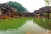 Fenghuang Huangsi Phoenix Hong Bridge River