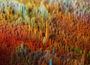 Nice three-dimensional terrain