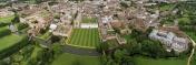 Panoramic Aerial View of Cambridge University