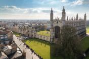 Cambridge University Top View