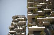 Modern residential building.