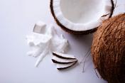 Coconut - close-up texture