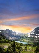 Glacier National Park view