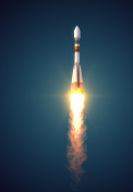 Carrier Rocket akes Off