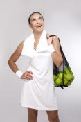Closeup Portrait of Professional Female Tennis Player