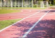 Old Running Track in School