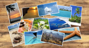 collection of tropical images