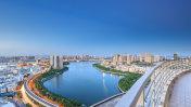 Xiamen lakeside reservoir, lakeside Garden