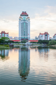 campus of xiamen university in China