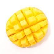 fresh mango slice