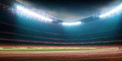 soccer stadium with running track