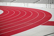 Tartan running sports track