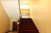 Chinese style villa stair