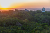 Sunrise in Tikal