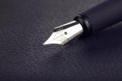 Fountain pen close-up