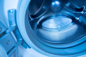 Empty drum washing machine
