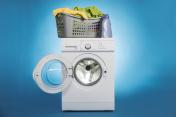 Laundry Basket On Washing Machine