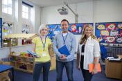 Three Teachers in a Classroom