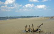 Beach at Jekyll Island GA