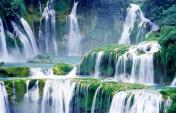 Close-up Waterfalls