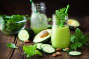 Avocado and cucumber detox smoothie